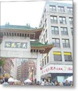 Boston's Chinatown  Metal Print