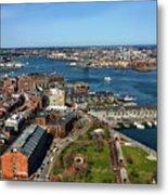 Boston's North End Metal Print