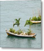Botanic Garden On The Water Metal Print