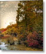 Botanical Wetlands Metal Print