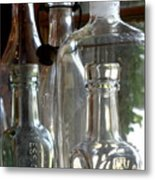 Bottle Necks Metal Print