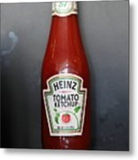 Bottled Ketchup - 5d18039 Metal Print