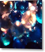 Bottled Marbles Metal Print