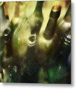 Bottles Of Color Metal Print