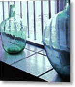 Bottles Still Life Metal Print