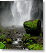 Bottom Of Wakeena Falls Metal Print
