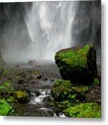 Bottom Of Wakeena Falls Metal Print