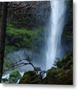 Bottom Of Watson Falls Metal Print