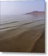 Bottom Ripples Metal Print