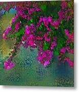 Bougainville Delight Metal Print by Seema Sayyidah
