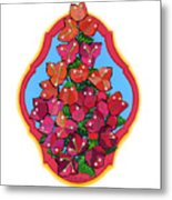 Bougainvillea Too Metal Print