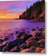 Boulder Beach Sunrise Metal Print