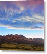 Boulder Colorado Dreaming Metal Print