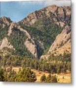 Boulder Colorado Rocky Mountain Foothills Metal Print