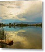 Boulder County Colorado Calm Before The Storm Metal Print