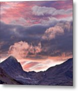 Boulder County Colorado Indian Peaks At Sunset Metal Print by James BO  Insogna
