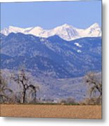 Boulder County Colorado Panorama Metal Print