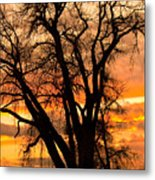 Boulder  County Sunset Metal Print