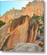Boulder-notom Varnish Metal Print