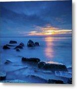 Boulder Point Sunrise Metal Print