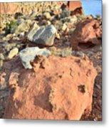 Boulders Above Camprground Metal Print