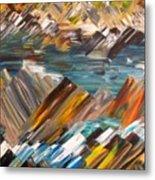 Boulders In The River Metal Print