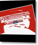 Bounce. '63 Impala Lowrider. Metal Print