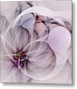 Bound Away - Fractal Art Metal Print
