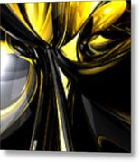 Bounded By Light Abstract Metal Print
