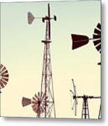Bountiful Windmills Metal Print