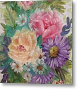 Bouquet 2 Metal Print