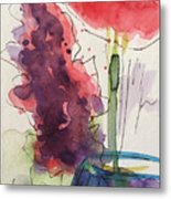 Bouquet Abstract 1 Metal Print