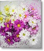 Bouquet Boom Metal Print