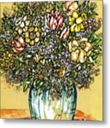 Bouquet For You Metal Print