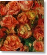 Bouquet Of Flowers 1915 Metal Print