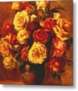Bouquet Of Roses 1 Metal Print