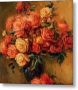 Bouquet Of Roses 1900 Metal Print