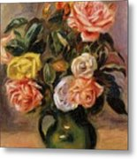 Bouquet Of Roses 2 Metal Print