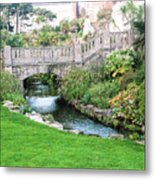 Bournemouth Lower Gardens Metal Print