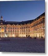 Bourse Square, Bordeaux Metal Print