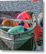 Bouys In A Boat Metal Print