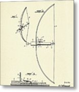Bow And Arrow-1925 Metal Print