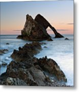Bow Fiddle Rock At Sunset Metal Print