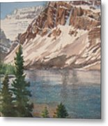 Bow Lake Alberta Metal Print