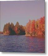 Bow Lake New Hampshire Autumn Colors Metal Print