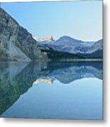 Bow Lake Panorama Metal Print
