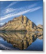 Bow Lake Sunrise Banff National Park Alberta  Canada  Metal Print