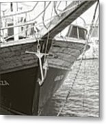 Bow Of The Boat Metal Print