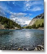Bow River Alberta Metal Print