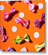 Bow Tie Party Metal Print